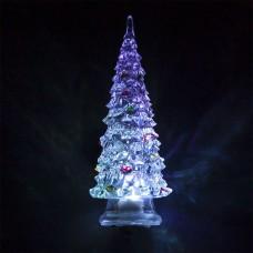 Световая фигура, прозрачный пластик, 1LED RGB, 3*AG13, 140мм, LT130
