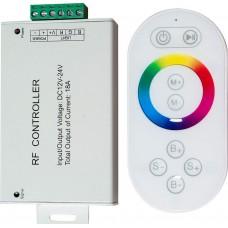 Контроллер для светодиодной ленты с П/У белый, 18А12-24V, LD56