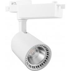 Светодиодный светильник AL102 трековый на шинопровод 12W 4000K 35 градусов белый 29513