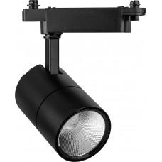 Светодиодный светильник AL103 трековый на шинопровод 20W 4000K 35 градусов черный 29648
