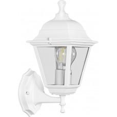 Светильник садово-парковый НБУ 04-60-001, вверх/вниз, 4-х гранник 60W E27 230V, белый 32267