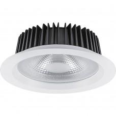 Светодиодный светильник AL251 встраиваемый 8W 4000K белый