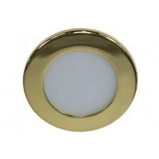 Светодиодный светильник AL500 встраиваемый 3W 4000K золотистый