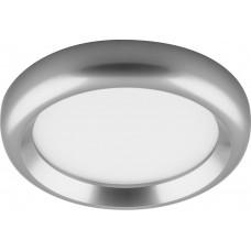 Светодиодный светильник AL614 встраиваемый 7W 4000K серебро