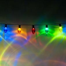 Светодиодная гирлянда CL113 фигурная 220V разноцветная c питанием от сети 26911