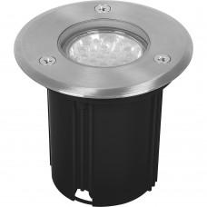 Светодиодный светильник тротуарный (грунтовый) 3732 7W 4000K 230V IP65 11856
