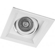 Светильник встраиваемый DLT201 потолочный MR16 G5.3 белый
