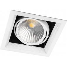 Светодиодный светильник AL211 карданный 1x30W 4000K 35 градусов, белый