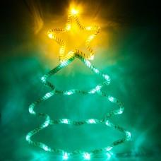Световая фигура 4,5V 15 LED, белый цвет свечения, батарейки 3*АА IP20, 28*40 см, LT052
