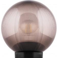Светильник садово-парковый НТУ 02-60-205 шар ПМАА E27 230V, призма дымчатый 11567