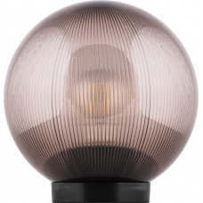 Светильник садово-парковый НТУ 02-60-255 шар ПМАА E27 230V, призма дымчатый 11568
