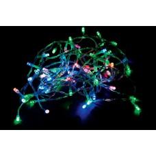 Светодиодная гирлянда CL02 линейная 230V разноцветная c питанием от сети 26767