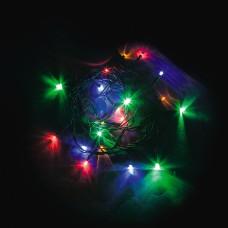 Светодиодная гирлянда CL02 линейная 230V разноцветная c питанием от сети 32282