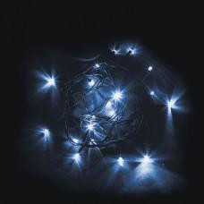 Светодиодная гирлянда CL02 линейная 230V синий c питанием от сети 32286