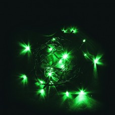 Светодиодная гирлянда CL02 линейная 230V зеленый c питанием от сети 32285