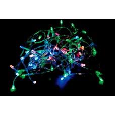 Светодиодная гирлянда CL03 линейная 230V разноцветная c питанием от сети 26772