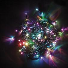 Светодиодная гирлянда CL04 линейная 230V разноцветная c питанием от сети 32296