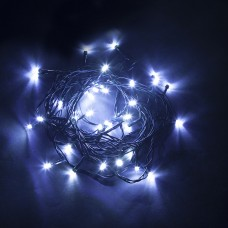 Светодиодная гирлянда CL04 линейная 230V синий с питанием от сети 32300