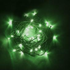 Светодиодная гирлянда CL04 линейная 230V зеленый с питанием от сети 32299