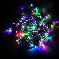 Светодиодная гирлянда CL05 линейная 230V разноцветная c питанием от сети 32303