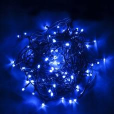 Светодиодная гирлянда CL05 линейная 230V синий c питанием от сети 32307