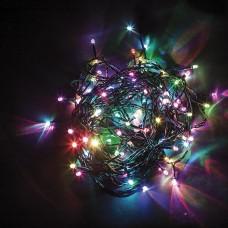 Светодиодная гирлянда CL06 линейная 230V разноцветная c питанием от сети 32310
