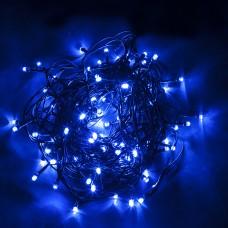 Светодиодная гирлянда CL06 линейная 230V синий c питанием от сети 32312