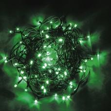 Светодиодная гирлянда CL06 линейная 230V зеленый c питанием от сети 32311