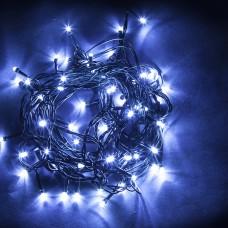 Светодиодная гирлянда CL07 линейная 230V синий c питанием от сети 32315