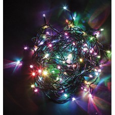 Светодиодная гирлянда CL08 линейная 230V разноцветная c питанием от сети 26784
