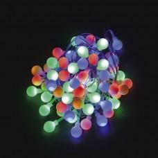 Светодиодная гирлянда CL55 фигурная 230V разноцветная c питанием от сети