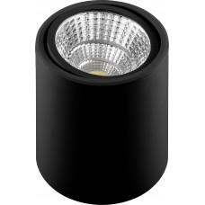 Светодиодный светильник AL516 накладной 15W 4000K черный поворотный