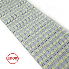 Светодиодная LED линейка SMD 5630/144LED, 57.6W, 12V, IP33, 6480Lm