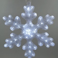 Светодиодная снежинка 30 см (KAEMINGK)