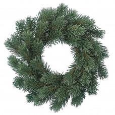 Венок Рождественский зеленый, 35 см