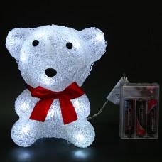 Медвежонок Умник 16 Led, 16 см