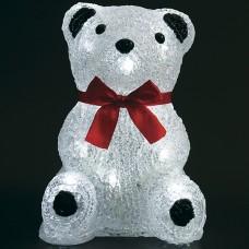 Медвежонок 16 Led, 18 см