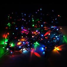 Светодиодная нить RGB Хит продаж (черный провод)