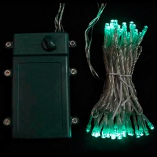 Нити на батарейках 5 метров, 50 led, таймер