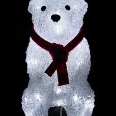Медвежонок Джонни 40 Led, 22 см