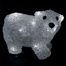 Медвежонок Джими 16 Led, 20 см