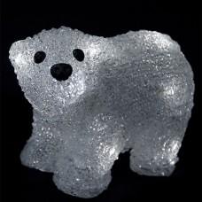 Медвежонок Френки 16 Led, 20 см