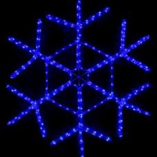 Светодиодная снежинка 80 см