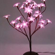 Цветок Плюмерии 24 led, 45 см