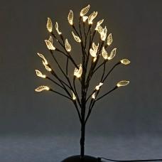 Бонсай 32 led, с листьями 45 см