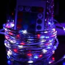 Светодиодная нить Роса 5  метров, 100 led