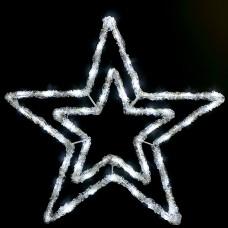 Светодиодная фигура Звезда 55 см, 100 Led