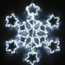 Светодиодная снежинка 50 см