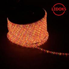 Дюралайт светодиодный LED-F3W 3-х жильный, синий-красный 2,88Вт/м 72LED/м 50м 220V