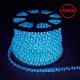 Дюралайт светодиодный LED-F3W 3-х жильный, синий 2,88Вт/м 72LED/м 50м 220V